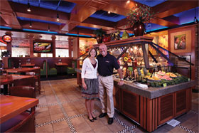 Gary and Sally Myers, Sizzler Franchisees