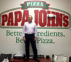 Ricky Warman, Papa John's Franchisee