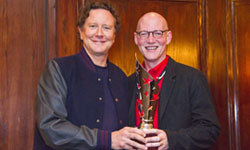Paul Pickett with Judge Reinhold