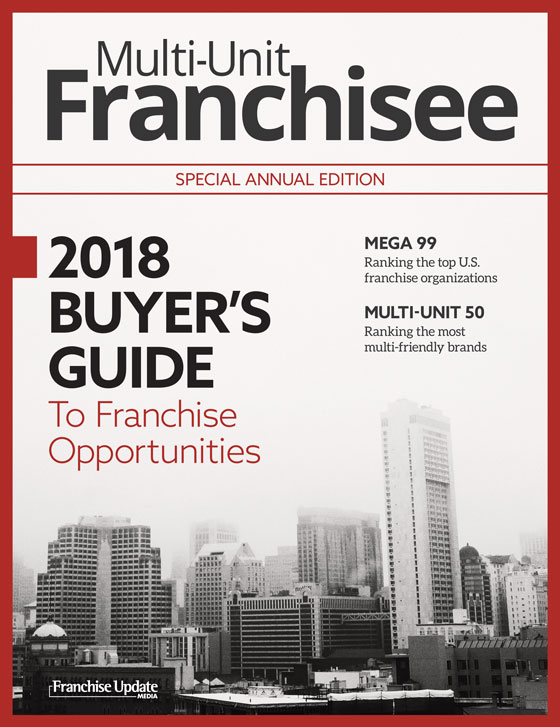 2018 Multi-Unit Franchisee Buyer's Guide
