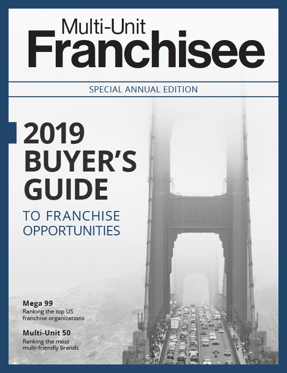 2019 Multi-Unit Franchisee Buyer's Guide