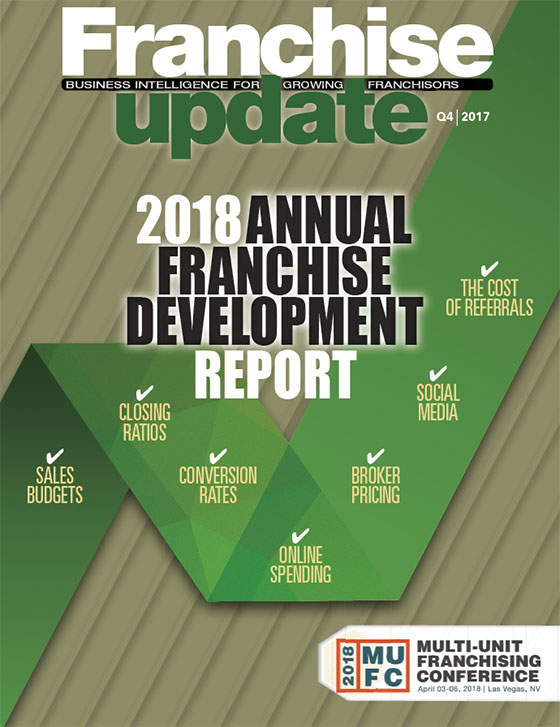 2018 Annual Franchise Development Report