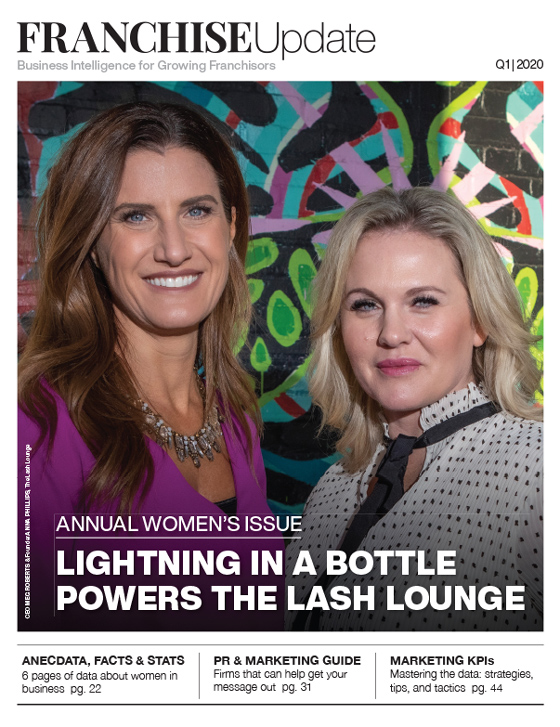 Annual Women's Issue: Lightning in a Bottle Powers the Lash Lounge