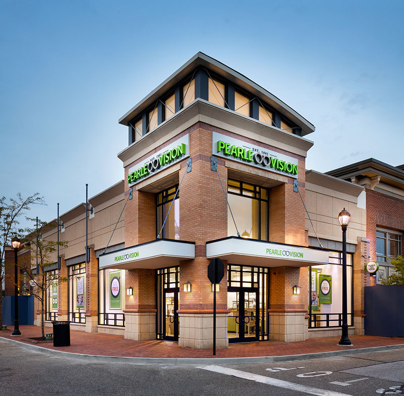 7058eb30e1 ... Franchise Opportunity. Pearle Vision store front