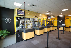 ZIPS Dry Cleaners Franchise interior